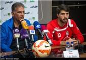 انصاریفرد: دیدار با عمان سخت است/ میخواهیم به هواداران هدیه بدهیم