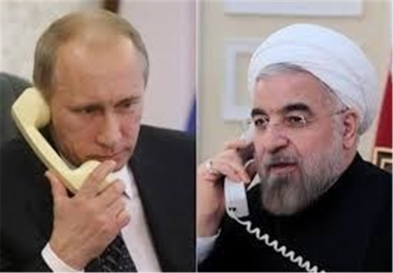 Iran's Rouhani, Russia's Putin Discuss Latest Developments in Syria