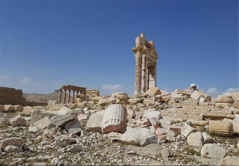 First Russian Expert Group Arrives in Syria for Clearing Palmyra of Mines