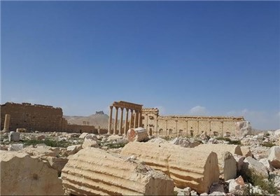 خرابی های شهر باستانی تدمر