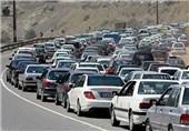 ترافیک در محورهای استان البرز سنگین شد