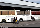 496 اتوبوس از استان گلستان به مرز مهران اعزام شدند
