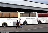 مسافران ترمینال اتوبوسرانی مشهد