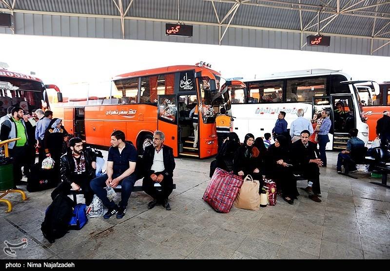 400 دستگاه اتوبوس برای انتقال مسافران نوروزی در البرز در نظر گرفته شد