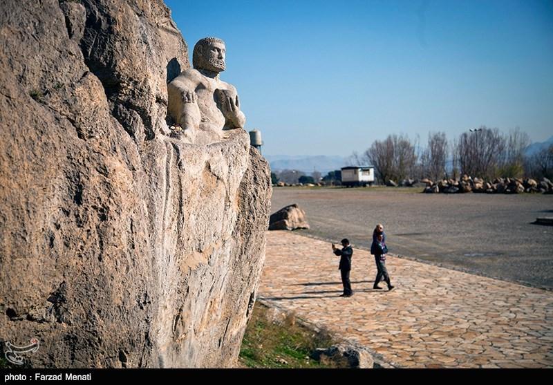 بیستون پس از زلزله -  Tasnim