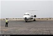 پرواز نخستین هواپیمای ایرباس 320 از جزیره کیش به تهران