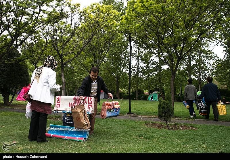 روز طبیعت در پارک لاله تهران