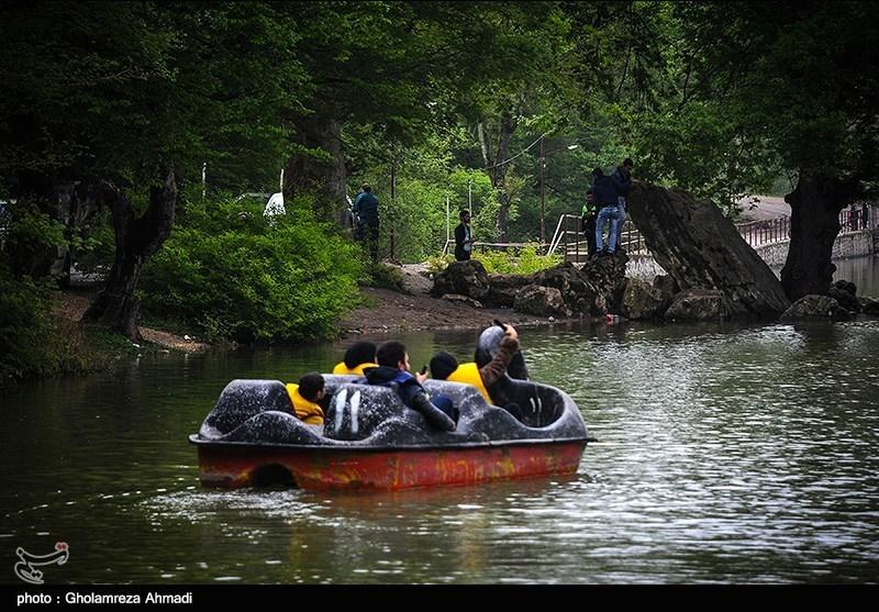 بحیرة عباس آباد فی بهشهر بمحافظة مازندران+صور