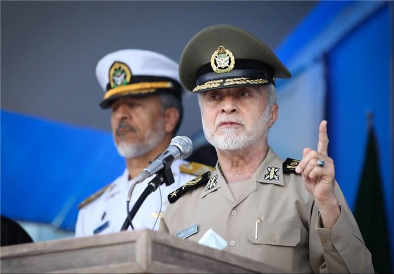 القائد العام للجیش اللواء صالحی: بعض أفراد الجیش توجهوا لسوریا بصورة طوعیة