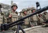 یک پهپاد دیگر آذربایجان در قرهباغ سرنگون شد + فیلم