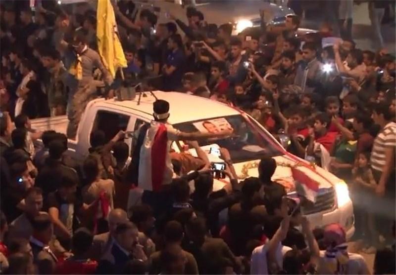 """احتفالات حاشدة فی تکریت بذکرى تحریرها من دنس """"داعش"""" الإرهابی + فیدیو"""