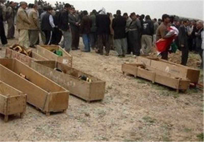 العثور على مقبرة جماعیة للنساء والأطفال فی أطراف تدمر