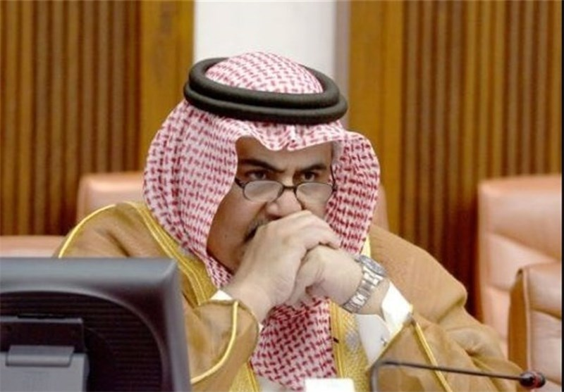 عندما یکرر وزیر خارجیة البحرین، تصریحات نظیره السعودی، ضد إیران!!
