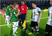 فیلم/ علت دست ندادن مسی با کاپیتان بولیوی مشخص شد