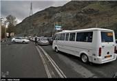 بازگشت مسافران نوروزی از جاده چالوس
