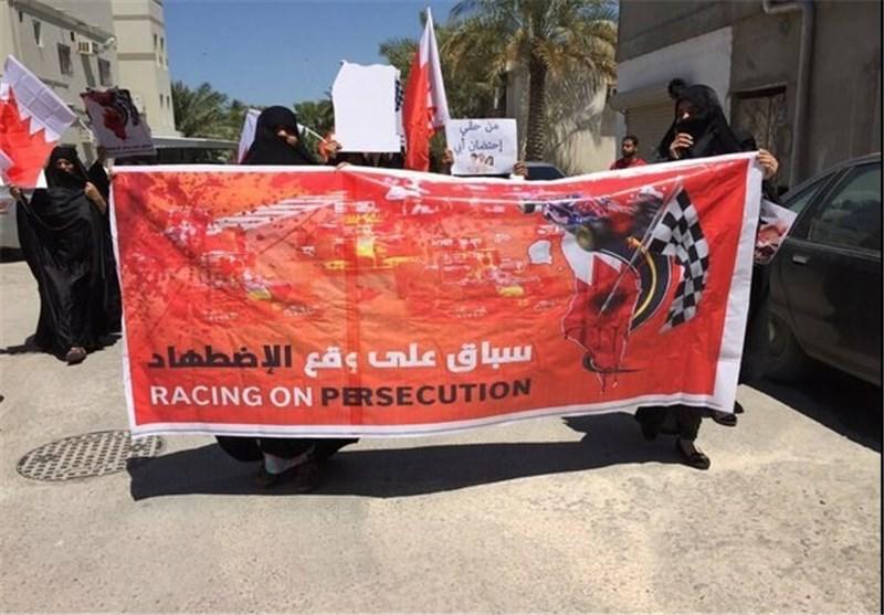 مسیرات فی بلدة أبوصیبع احتجاجا على اقامة سباق فورملا 1 + صور