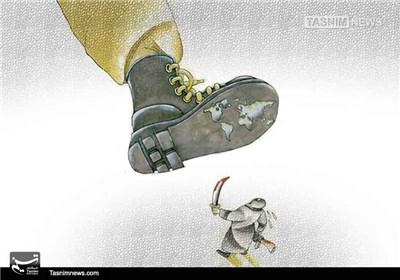 کاریکاتور/ همت جهانی برای سرکوبی داعش