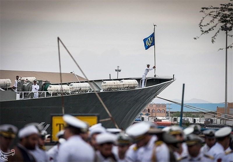 ناوگروه 47 نیروی دریایی ارتش در عمان پهلو گرفت