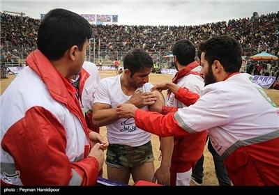 Traditional Chookheh Wrestling Tournament in Northeastern Iran