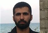 """مراسم سالگرد شهید مدافع حرم """"سعید مسافر"""" در رشت برگزار شد"""
