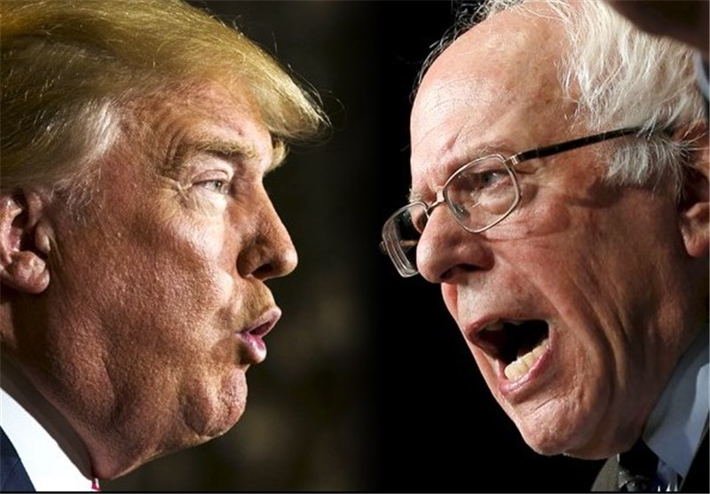 Sanders Hopes Early Strength Will Prove He Can Beat Trump