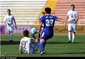 دیدار تیم های فوتبال پدیده و استقلال اهواز