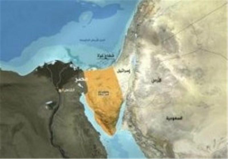 کشته شدن چندین نظامی مصری در حمله افراد مسلح