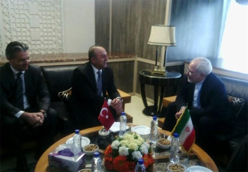 Iran, Turkey Discuss Syria during Zarif's Visit to Ankara