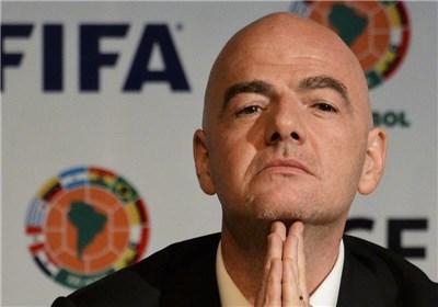اینفانتینو: هر کسی دنبال گرفتاری است به روسیه نیاید | فوتبال مهم تر از مشکلات سیاسی است