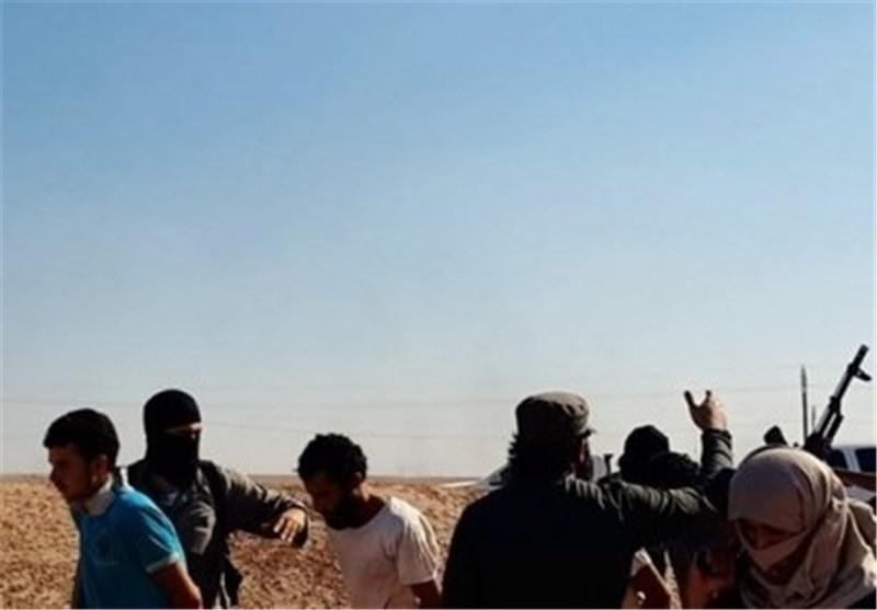 داعش پرتاب مردم به فرات