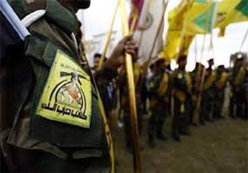 رجال کتائب حزب الله والشرطة الاتحادیة یقتحمون مواقع عصابة داعش الارهابیة فی الفلوجة