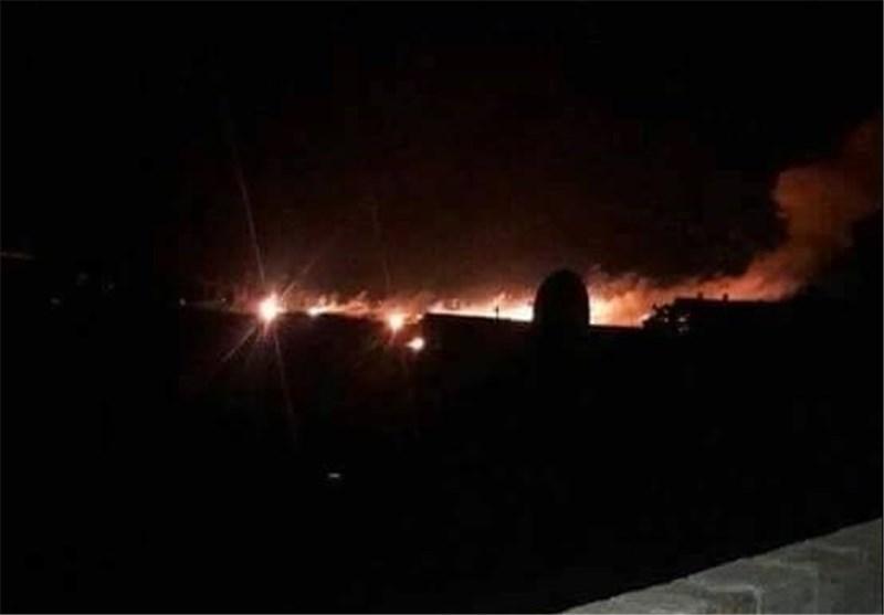 """ أهالی """"الضمیر"""" بریف دمشق ینتفضون على """"داعش"""" وقصف عنیف على مواقع النصرة جنوب حلب"""