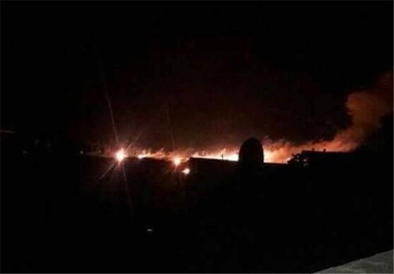 جنگندههای متجاوز عربستان کاخ ریاست جمهوری یمن را بمباران کردند
