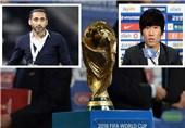 حضور سامی الجابر و پارک جیسونگ در مراسم قرعهکشی دور سوم انتخابی جام جهانی 2018
