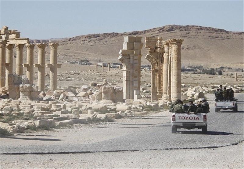 دہشت گرد ٹولہ داعش کی ''تدمر'' شہر سے پسپائی