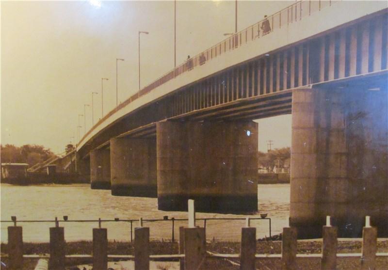 پل قدیم خرمشهر پل آزادی خرمشهر میراث ملی خرمشهر / عبادی