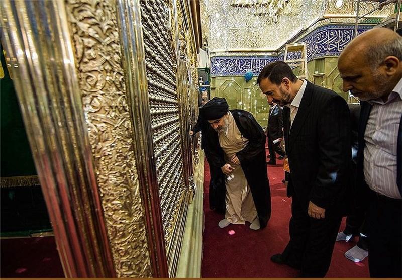 نصب آخرین پنجرههای ضریح حضرت عباس علیهالسلام