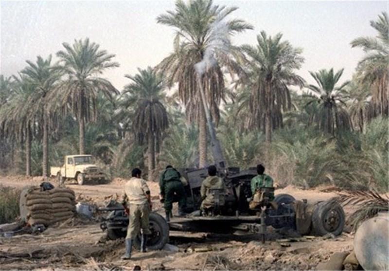 توپخانه در دوران جنگ