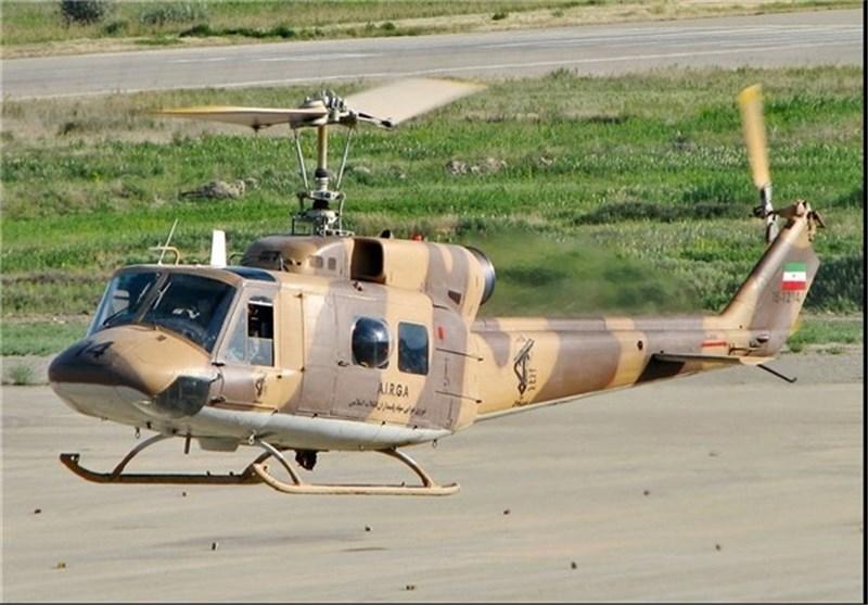 انجام 105 سورتی پرواز توسط بالگردهای هوانیروز سپاه در مناطق سیلزده