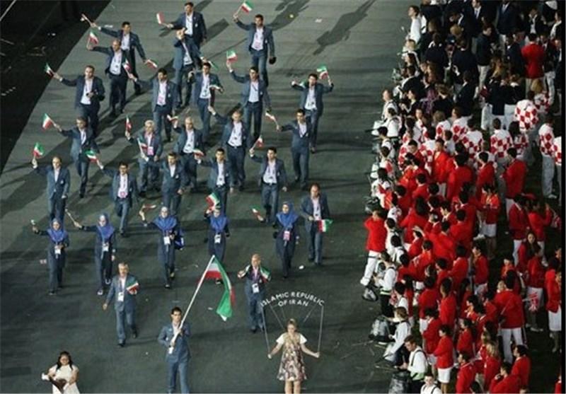 کاروان ایران در المپیک 2012