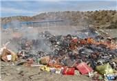 کهگیلویه و بویراحمد| پنج تن مواد غذایی فاسد در شهرستان لنده کشف شد