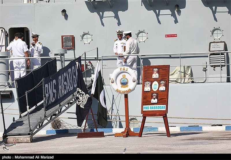 Pakistani Fleet Arrives at Iran's Southern Port