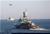 رزمایش ناوگروه نیروی دریایی ارتش
