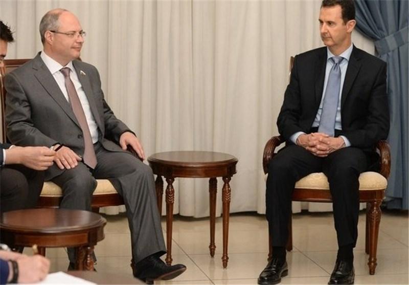 بشار اسد روسیه