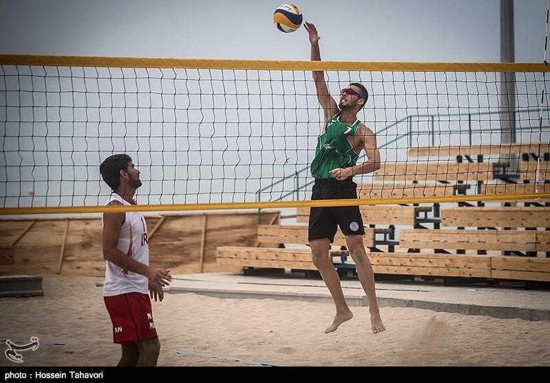 اردوی تیم ملی والیبال ساحلی در کیش
