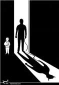 کاریکاتور/ خشونت خانگی علیه کودکان