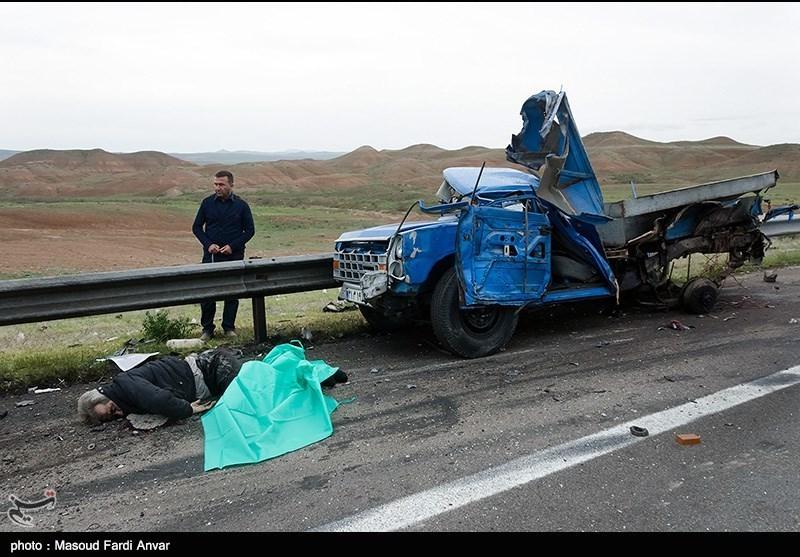 تصادف در محور تهران-تبریز