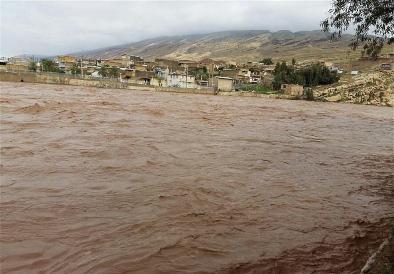 جزئیات تازه از خسارت سیل در استان لرستان/ روستاها در محاصره سیل و تخریب تاسیسات زیربنایی + تصاویر