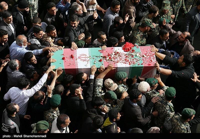 تشییع پیکر شهید محسن قوطاسلو مدافع حرم ارتش