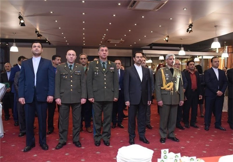 Iran's National Army Day Commemorated in Yerevan